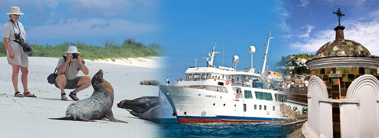 GT 01B   QUITO AND THE GALAPAGOS ISLANDS ON BOAD THE DELUXE  M/Y  ISABELA II